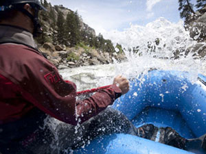 rafting in vail