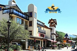 Vail Village 2 bedroom condos, steps to skiing, dogs allowed and handicap accessible rentals in Vail, Vail handicapped rentals, pet friendly and wheelchair accessible rentals in Vail, Colorado